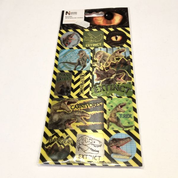 Stickers : Natural History Museum 3D